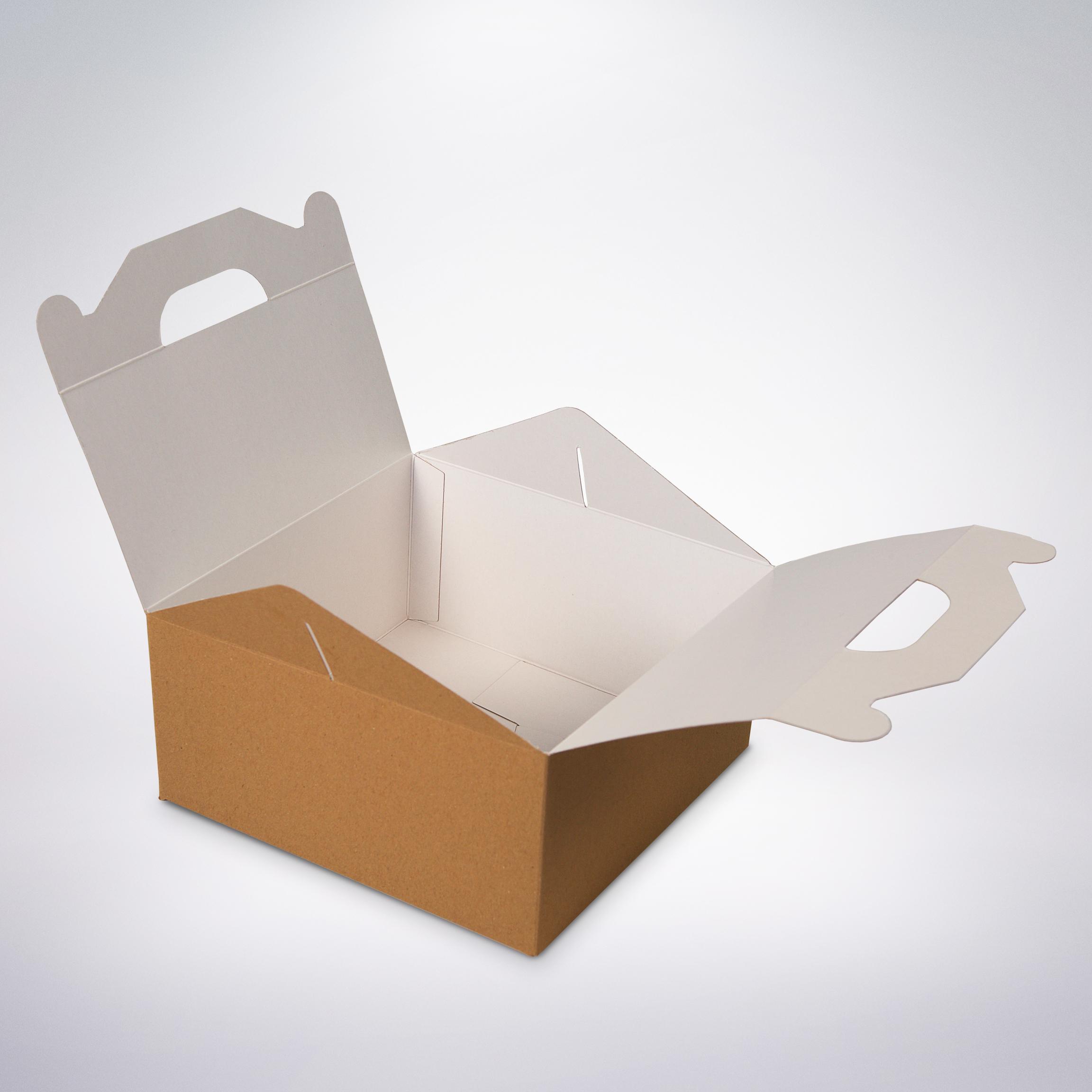 Cukrárska krabica eko165x165x80