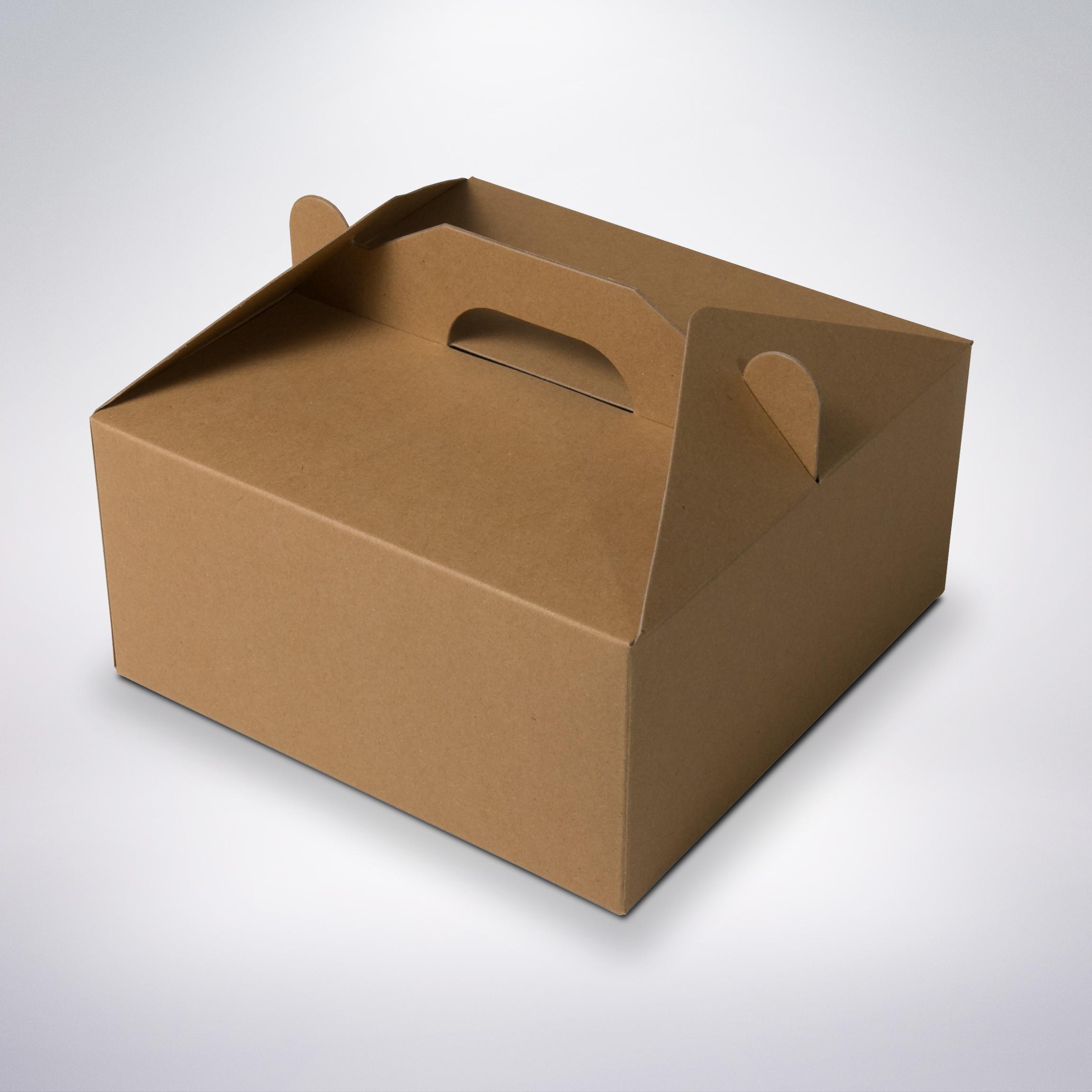 Cukrárska krabica eko 190x190x80